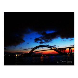 The Bayonne Bridge postcard