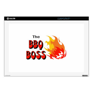 THE BBQ BOSS DECAL FOR LAPTOP