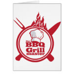 The BBQ Grill master Card