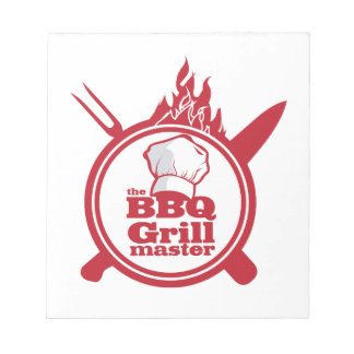 The BBQ Grill master Notepad