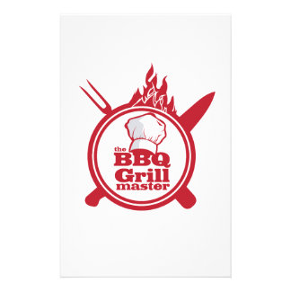The BBQ Grill master Stationery