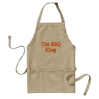 The BBQ King Adult Apron