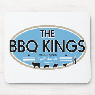 The bbq kings mouse pad