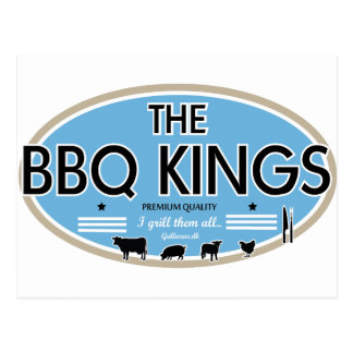 The bbq kings postcard