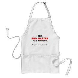 The BBQ Master Adult Apron