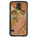 The Beach, 1929 Carved® Maple Galaxy S5 Case