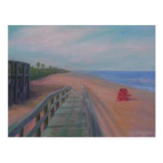 THE BEACH AT FLAGLER BEACH Postcard