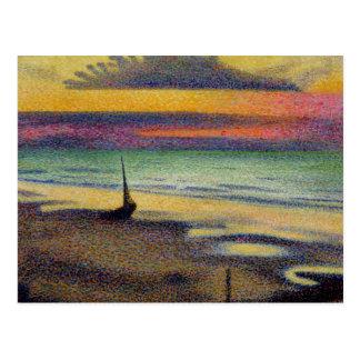 The Beach at Heist, 1891-92 Postcard