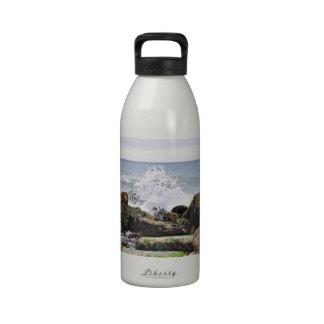 The Beach at Montauk, NY Reusable Water Bottles