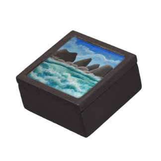 The Beach at Oceanside Keepsake Box