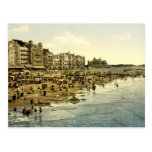 The beach at Ostend Belgium Post Card