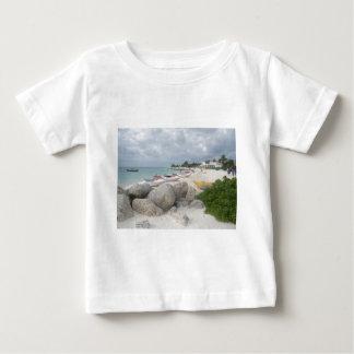 The Beach at Port Lucaya, Freeport Baby T-Shirt
