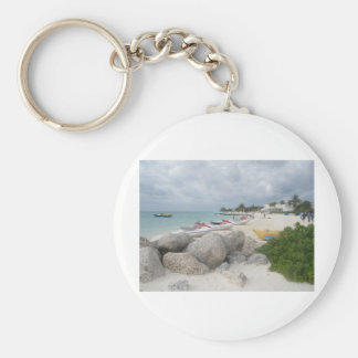 The Beach at Port Lucaya, Freeport Keychain