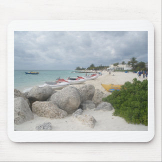 The Beach at Port Lucaya, Freeport Mouse Pad