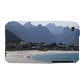 The beach at Ramberg is famous for its white 2 Case-Mate iPhone 3 Case