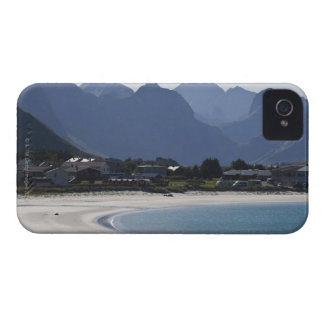 The beach at Ramberg is famous for its white 2 Case-Mate iPhone 4 Case