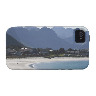 The beach at Ramberg is famous for its white 2 iPhone 4 Cover
