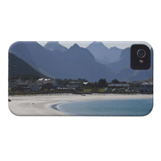 The beach at Ramberg is famous for its white 2 iPhone 4 Covers