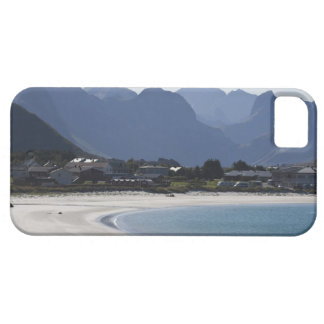 The beach at Ramberg is famous for its white 2 iPhone 5 Case