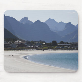 The beach at Ramberg is famous for its white 2 Mouse Pad