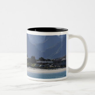 The beach at Ramberg is famous for its white 2 Two-Tone Coffee Mug