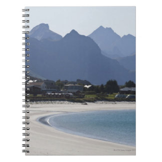 The beach at Ramberg is famous for its white 2 Notebook