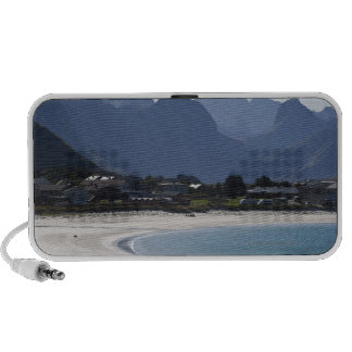 The beach at Ramberg is famous for its white 2 Notebook Speakers