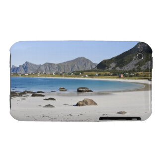 The beach at Ramberg is famous for its white Case-Mate iPhone 3 Case