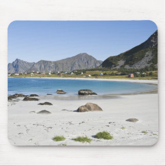 The beach at Ramberg is famous for its white Mouse Pad