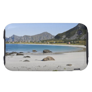 The beach at Ramberg is famous for its white Tough iPhone 3 Cases