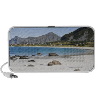 The beach at Ramberg is famous for its white Travel Speaker