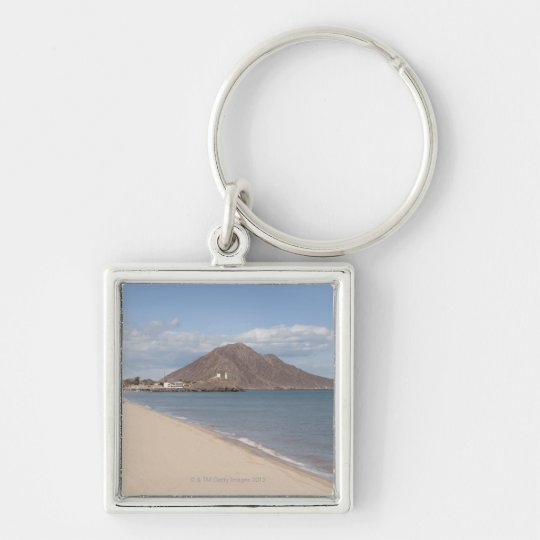 The beach at San Felipe on the Sea of Cortez Keychain
