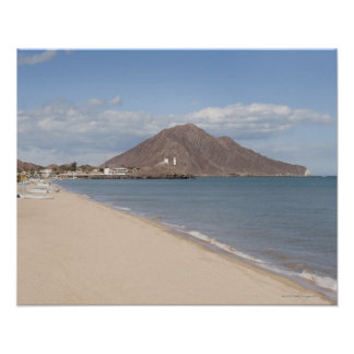 The beach at San Felipe on the Sea of Cortez Poster