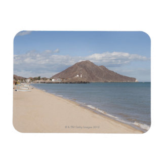 The beach at San Felipe on the Sea of Cortez Vinyl Magnets