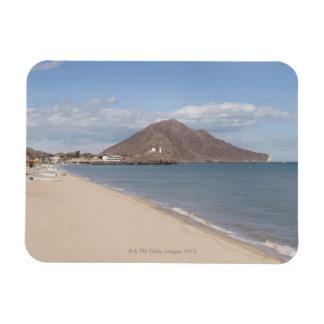 The beach at San Felipe on the Sea of Cortez Rectangular Photo Magnet