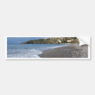 The Beach At Scalea Bumper Sticker