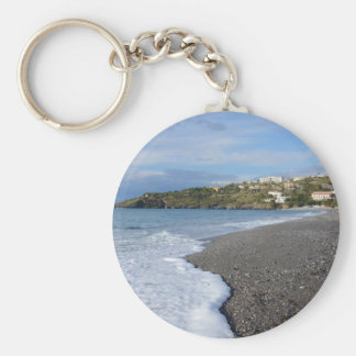 The Beach At Scalea Key Chain