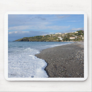 The Beach At Scalea Mouse Pad