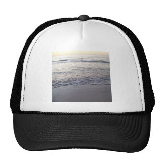 The Beach at Sunset Trucker Hat