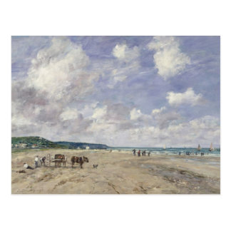 The Beach at Tourgeville 1893 Post Cards