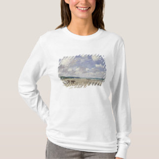 The Beach at Tourgeville, 1893 T-Shirt