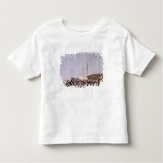 The Beach at Trouville, 1864 Toddler T-shirt
