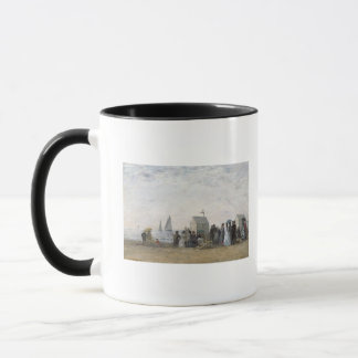 The Beach at Trouville, 1867 Mug