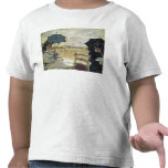 The Beach at Trouville, 1870 Tshirt