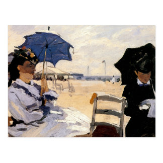 The Beach at Trouville Post Card