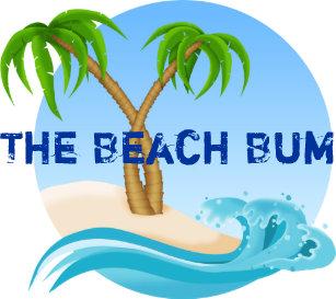 8b9fcfc9055052 The Beach Bum Palm Trees Tropical Trucker Hat