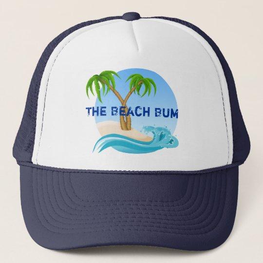 6cabefdfe3c38a The Beach Bum Palm Trees Tropical Trucker Hat | Zazzle.com