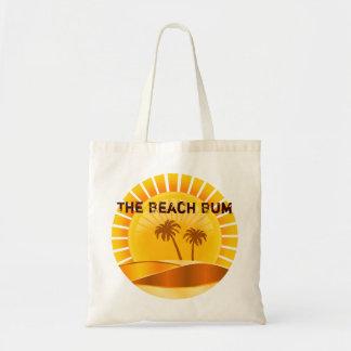 The Beach Bum Tropical Sunburst Tote Bag