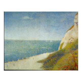 The Beach by Georges Seurat Posters