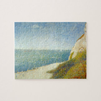 The Beach by Georges Seurat Jigsaw Puzzles